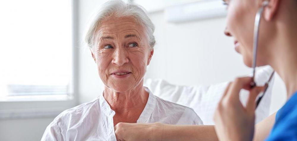 Caregiver with Female Senior