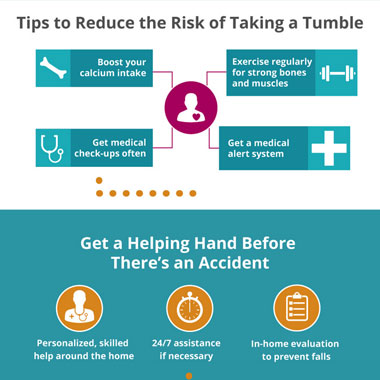 AHHC Fall Prevention Awareness Infographic